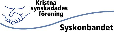 Kristna synskadades förening Syskonbandet - logga