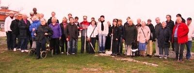 Gruppbild på deltagarna i Varberg