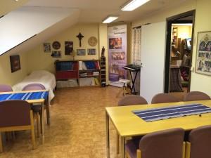 Bild på Syskonbandets sammanträdesrum