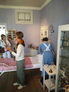 Vi besökte även Sveriges enda museum för diakoni som finns på Ersta